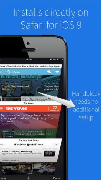 Ad blocker iphone , signal blocker iphone from itunes